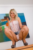 Shelly Roberts in upskirts and panties gallery from ATKPETITES - #8