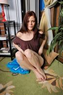 Angelina Black in masturbation gallery from ATKPETITES - #2