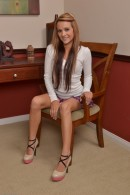 Laney Boggs in upskirts and panties gallery from ATKPETITES - #1