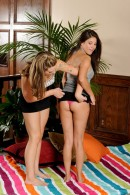 Shyla Jennings & Bailey Blue in lesbian gallery from ATKPETITES - #8