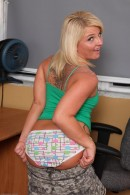 Casey Cumz in upskirts and panties gallery from ATKPETITES - #10
