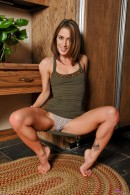 Sheena Shaw in upskirts and panties gallery from ATKPETITES - #10
