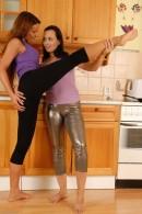 Megan Promesita & Ally Styles in lesbian gallery from ATKPETITES - #1