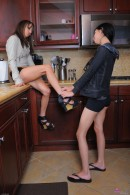 Risi Simms & Zoey Kush in lesbian gallery from ATKPETITES - #8