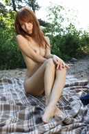 Tatiana in exotic and hairy gallery from ATKPETITES - #5