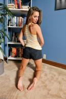 Riley Reid in footfetish gallery from ATKPETITES - #8
