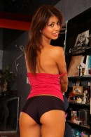 Veronica Rodriguez in upskirts and panties gallery from ATKPETITES - #10
