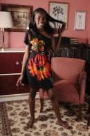 Maya in black women gallery from ATKPETITES - #10