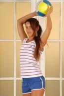Megan Promesita in uniforms gallery from ATKPETITES - #1