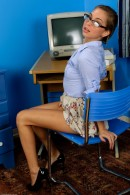 Riley Reid in upskirts and panties gallery from ATKPETITES - #8