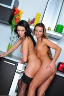 Frida & Megan Promesita in lesbian gallery from ATKPETITES - #6