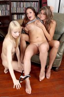 Kara Price & Ashley Jane & Talia Palmer in lesbian gallery from ATKPETITES - #9