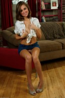 Riley Reid in upskirts and panties gallery from ATKPETITES - #1