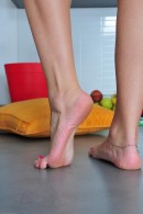 Michelle in footfetish gallery from ATKPETITES - #13