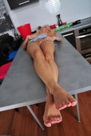 Michelle in footfetish gallery from ATKPETITES - #7