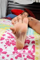 Kim Jenica in footfetish gallery from ATKPETITES - #15