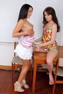 Lola Foxx & Kelly Klass in lesbian gallery from ATKPETITES - #9