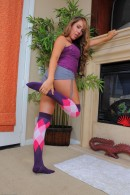Ella Milano in footfetish gallery from ATKPETITES - #1