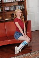 Amy Quinn in upskirts and panties gallery from ATKPETITES - #9