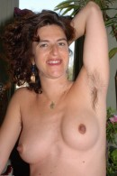 Cara in mature and hairy gallery from ATKPETITES - #13