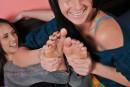 Tiffany Thompson & Mia Valentine in footfetish gallery from ATKPETITES - #1