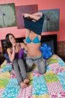 Tiffany Thompson & Mia Valentine in footfetish gallery from ATKPETITES - #10