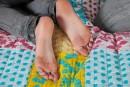 Tiffany Thompson & Mia Valentine in footfetish gallery from ATKPETITES - #8