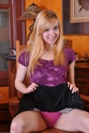 Zoe in upskirts and panties gallery from ATKPETITES - #11
