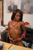 Leah in black women gallery from ATKPETITES - #3