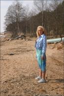 Ellie in The Shoreline gallery from MPLSTUDIOS by Alexander Fedorov - #9