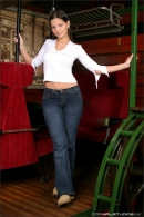 Eve Angel in The Club Car gallery from MPLSTUDIOS - #1