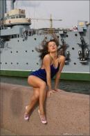 Julia in Blue Velvet gallery from MPLSTUDIOS by Alexander Fedorov - #11