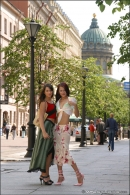 Anna & Julia in Postcard: Girlfriends gallery from MPLSTUDIOS by Alexander Fedorov - #9