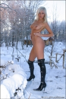Mishel in Snow Angel gallery from MPLSTUDIOS by Alexander Fedorov - #9