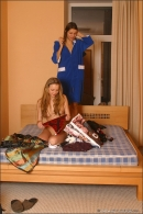 Ulia And Irina in Behind The Scenes gallery from MPLSTUDIOS by Alexander Fedorov - #1