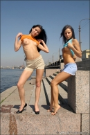 Vika And Maria in The Girls Of Summer gallery from MPLSTUDIOS by Alexander Fedorov - #14