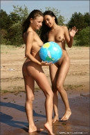 Vika And Kamilla in The Girls Of Summer gallery from MPLSTUDIOS by Alexander Fedorov - #4