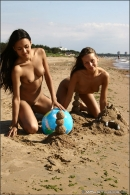 Vika And Kamilla in The Girls Of Summer gallery from MPLSTUDIOS by Alexander Fedorov - #7