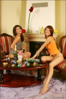 Nata And Syndi in Celebrate: New Years 2006 gallery from MPLSTUDIOS by Alexander Fedorov - #1
