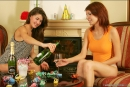 Nata And Syndi in Celebrate: New Years 2006 gallery from MPLSTUDIOS by Alexander Fedorov - #11