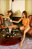Nata And Syndi in Celebrate: New Years 2006 gallery from MPLSTUDIOS by Alexander Fedorov - #13