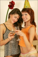 Nata And Syndi in Celebrate: New Years 2006 gallery from MPLSTUDIOS by Alexander Fedorov - #2