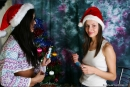 Vika And Kamilla in Merry Christmas gallery from MPLSTUDIOS by Alexander Fedorov - #1