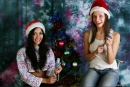 Vika And Kamilla in Merry Christmas gallery from MPLSTUDIOS by Alexander Fedorov - #2