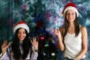 Vika And Kamilla in Merry Christmas gallery from MPLSTUDIOS by Alexander Fedorov - #3