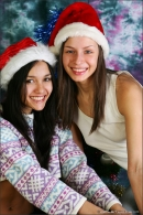 Vika And Kamilla in Merry Christmas gallery from MPLSTUDIOS by Alexander Fedorov - #5