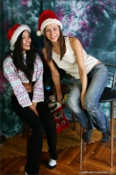 Vika And Kamilla in Merry Christmas gallery from MPLSTUDIOS by Alexander Fedorov - #9