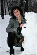 Natalie in Winter Angels gallery from MPLSTUDIOS by Alexander Fedorov - #11