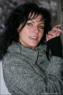 Natalie in Winter Angels gallery from MPLSTUDIOS by Alexander Fedorov - #12