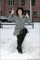 Natalie in Winter Angels gallery from MPLSTUDIOS by Alexander Fedorov - #3